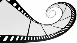 Film reel loop animation Animation
