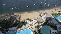 beach tourist paradise acapulco Footage