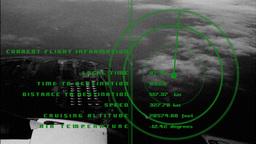 airplane data radar information flight travel plane airport Footage