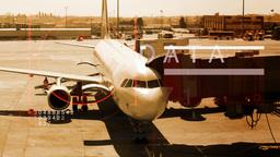 airport airplane flight passengers travel fly travel international Footage