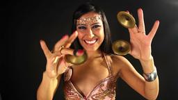 oriental belly dancer female music culture eastern Footage