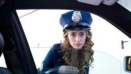 sexy police woman dancer Footage