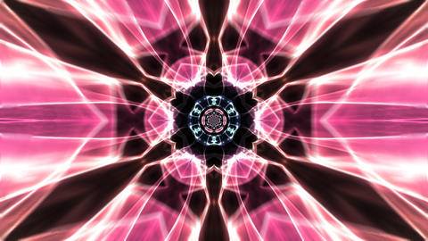 Psychedelic flame tunnel CG動画