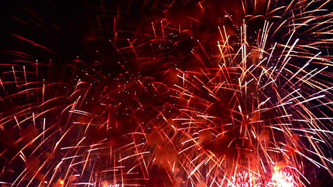1080p Fireworks Show / Fireworks Explosions Live Action
