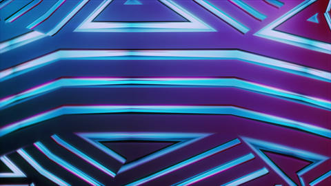 Bladetronic - Futuristic Kaleidoscope Video Background Loop Animation