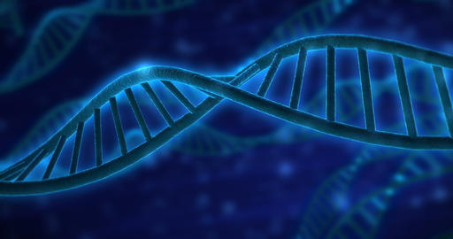 4k DNA Strand V1 stock footage