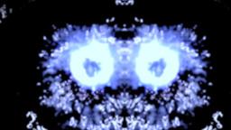Waterspilling like bizarre eyes, loopable Footage