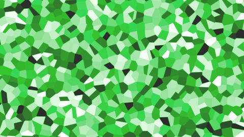 large irregular shape pattern background green Animation