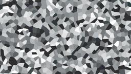 large irregular shape pattern background white Animation