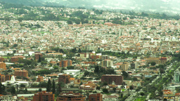 Historic center of Cuenca Footage