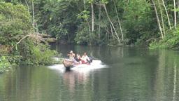 Amazonian Tourist Trip Footage