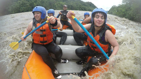 Muddy Waters Rafting Trip Live Action