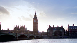 big ben and parliament london UK 4k Footage
