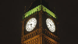 Big Ben Parliament London Uk stock footage