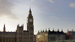 Big Ben London Parliament Uk England stock footage