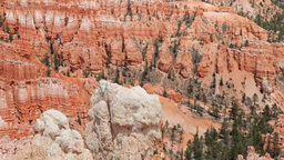 rock structures at bryce canyon, utah, usa Footage