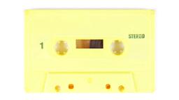 cassette audio music tape hifi sound vintage Footage