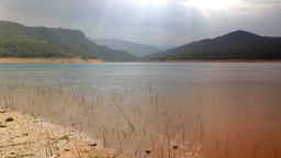 spain lake nature water beach rural wild Footage
