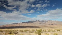 mountain range in death valley, california Footage