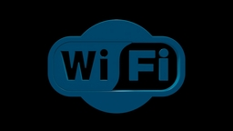 Wi-Fi Logo Model C4d stock footage