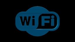 Wi-Fi Logo Model C4d stock footage