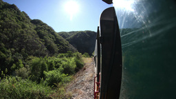 mexico train ride copper canyon sierra madre Footage