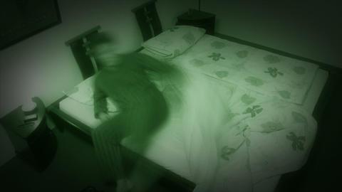 10649 sleepless sleep night camera time lapse wide zoom Stock Video Footage