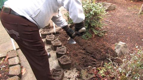 A Senior Gardening Footage