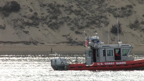 Coast Guard Ship Stock Video Footage