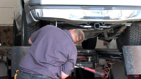 Install Hitch Stock Video Footage