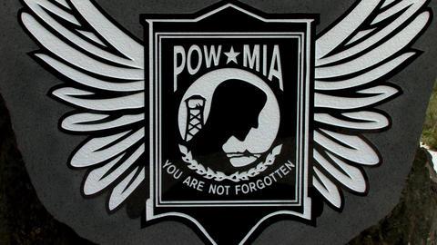 POW MIA Memorial Stock Video Footage