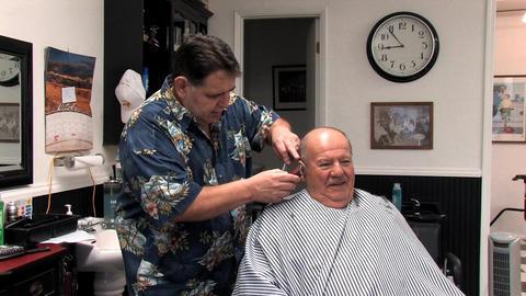 Senior Haircut Footage
