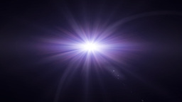 purple lens flare Animation