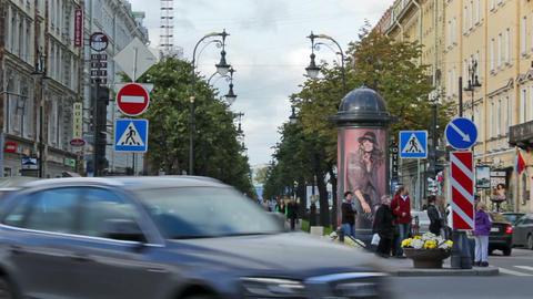 Bolshaya Konyushennaya ulitsa (Big Stables Street) Footage