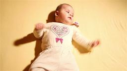 Baby 07 happy Footage