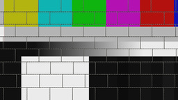 wall monitor color bar Stock Video Footage