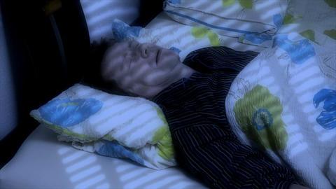 10658 man sleep snore Stock Video Footage