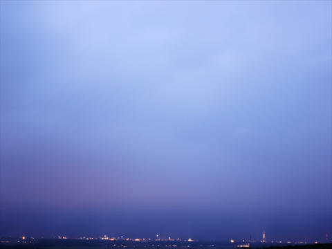 City Clouds Timelapse 4K Stock Video Footage