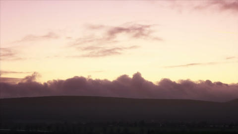 Dusk 1 Timelapse HD1080p Stock Video Footage