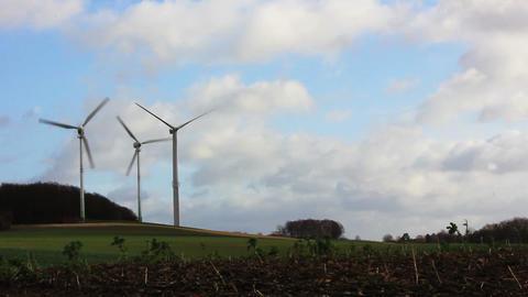 Windmills 1 HD1080p Stock Video Footage