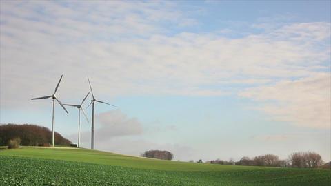 Windmills 3 HD1080p Stock Video Footage