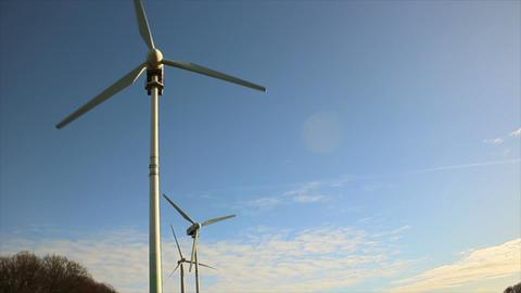 Windmills 5 HD1080p Stock Video Footage