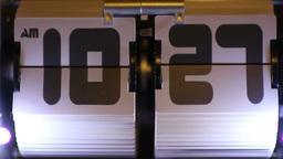 flip clock Footage