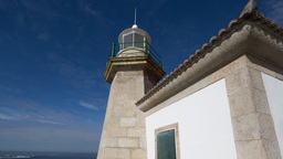 lighthouse galicia coast sea ocean Footage
