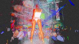 ibiza dancer gogo woman club disco Footage