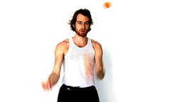 juggler man circus jester conjurer Footage