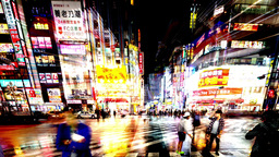 kabukicho nightlife tokyo red light district japan city Footage