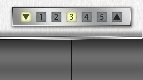 countdown elevator Animation