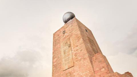 Equator monument HD Footage