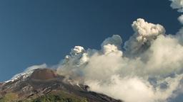 Tungurahua Volcano Eruption stock footage
